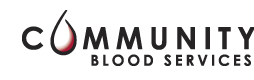 community_blood_services_logo