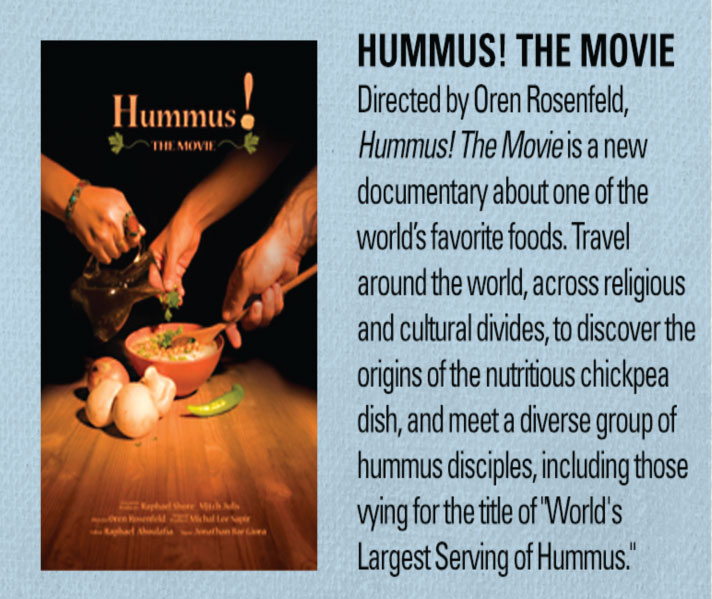 Jewish Film Festival - Hummus the Movie! @ Congregation B'nai Tikvah