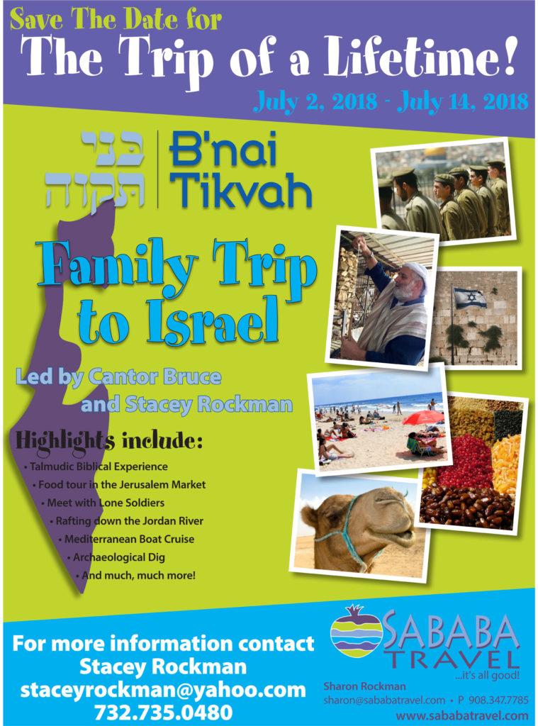 Congregation Trip to Israel